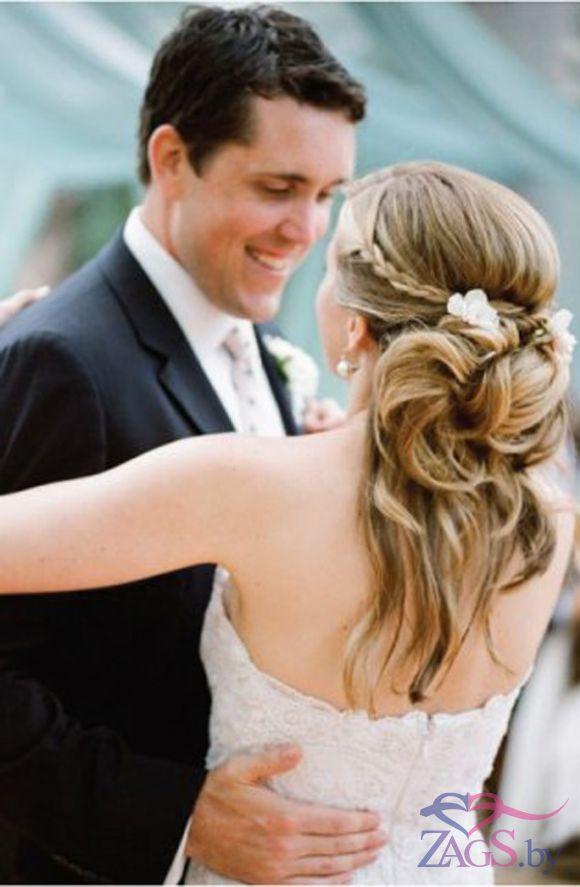 неординарные прически на свадьбу