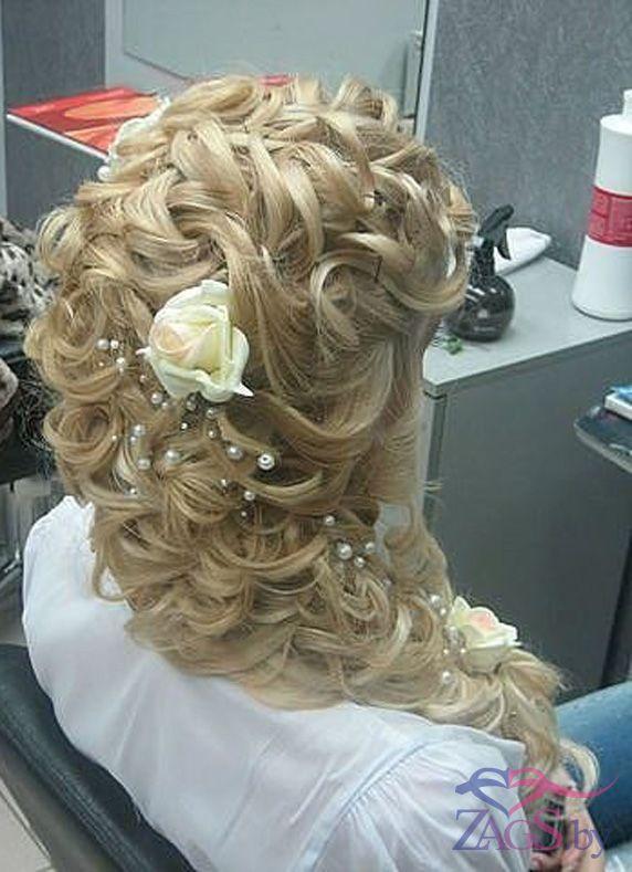 Свадебные причёски с плетением