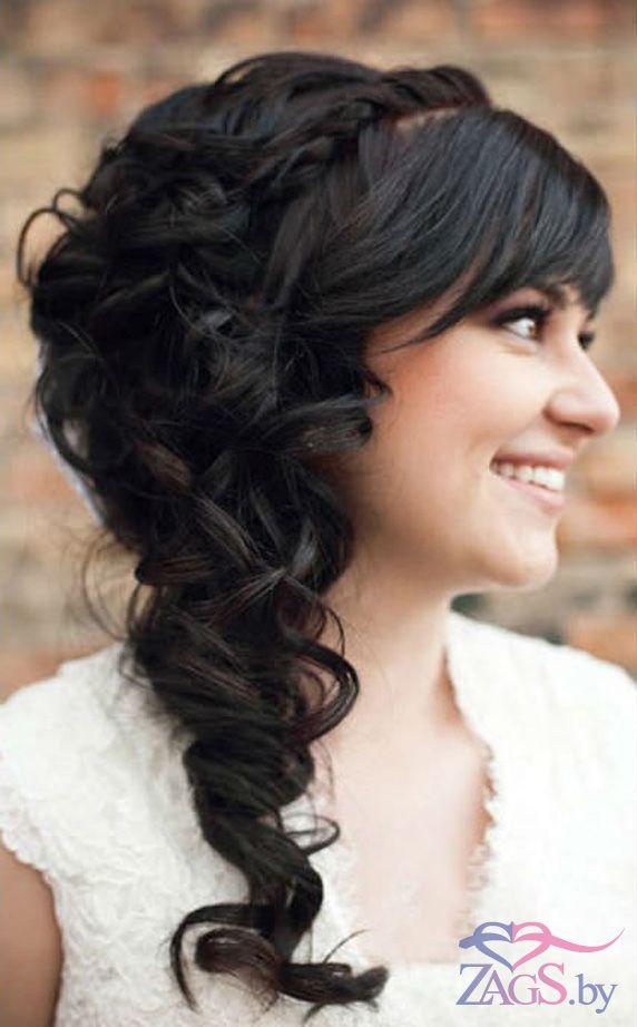 Свадебная прически на длинные волосы своими руками